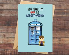 Geeky Valentine's Day cards Doctor who tardis #pokemon #valentinesday #geek #nerd http://ibeebz.com