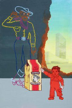 """Wystawa Simpsona """"""""SOCJALIDARNOŚĆ : Dyrektywy, zakazy, nakazy, podatki i regulacje"""""""