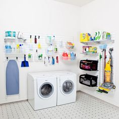Laundry and Utility Room Set - White - SkyMall