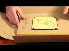 Handmade & handwritten Volume of the Pyrography book by Carlo Proietto.