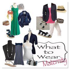 Stylized Fashion Board {Maternity Edition}