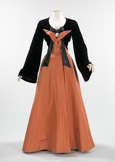 Evening Dress, Evening Gown, Splendid Evening Dress Design, Fashion Designer, Evening Dress Designer, Miracle Gown    Charles James  (American, born Great Britain, 1906–1978)  Date: 1947 Culture: American Medium: silk