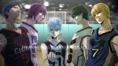 Generation of Miracles Tetsuya Kuroko Kise Ryouta Aomine Daiki Midorima Shintarou Murasakibara Atsushi HD 1920×1080