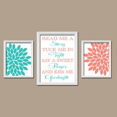 LOVE THIS! Love this! LOVE DISSS!  TUCK ME IN TIGHT AND  KISS ME GOODNIGHT  GET THIS OB ETSY TODAY!!   YOULL LOVE IT FOR YOUR DAUGHTER OR SONS ROOM ITS JUST SOO CUTE!