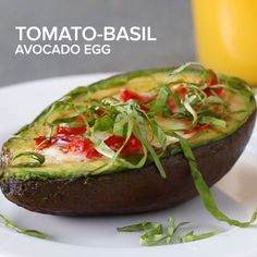 Avocado egg and other low carb breakfasts