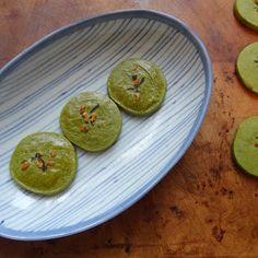 Miss Mochi's Adventures: Matcha Shortbread Cookies