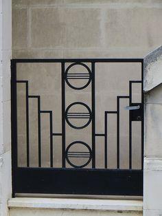 Maison Art deco, rue des Cèdres, quartier Lescure, Bordeaux