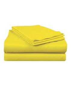 Take a look at this Lemon Rampage Sheet Set by Blow-Out on @zulily today,I just bought Me a set!
