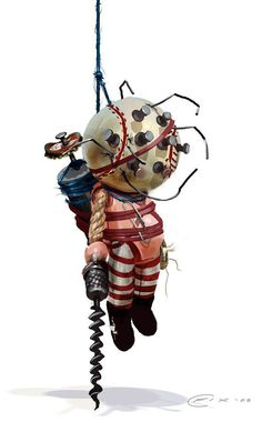 Bioshock 2: Little Sister doll