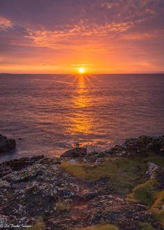 Fife Coast Sunrise in Scotland