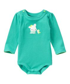 Look at this True Teal French Bulldog Bodysuit - Infant on #zulily today!