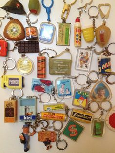 Some of my French key rings