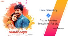 Fhyzics Movie Project - Velaikkaran by Mohan Raja Fhyzics successfully completed its fourth movie analysis project. http://www.cinefusion.in/  #business_advisor #movie_analysis #business_analysis