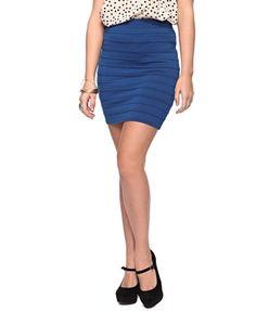 Ribbed Bodycon Skirt - StyleSays