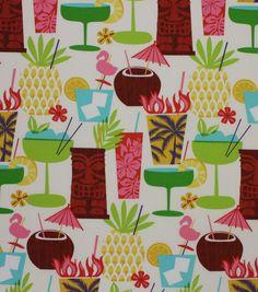 Outdoor Fabric-Solarium Happy Hour Fruit Punch