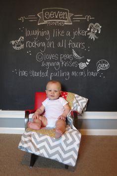photo mensuelle bébé