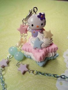 Hello Kitty Marshmallow Cookie Sandwich Decoden