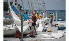 NC learn to sail class