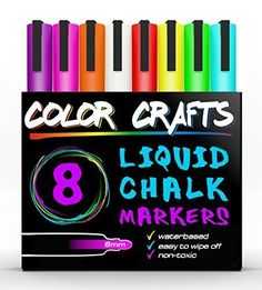 chalk markers | Jess chalk wall | Pinterest | Paint pens ...