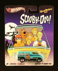 CUSTOM '77 DODGE VAN * SCOOBY-DOO * Hanna-Barbera Presents Hot Wheels 2011…