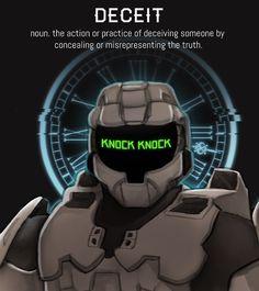 Project Freelancer: Agent Wyoming, AI: Gamma/Gary, Attribute: deceit