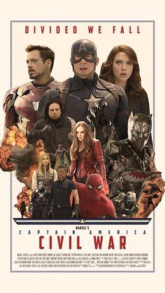 I made a Civil War Retro Poster