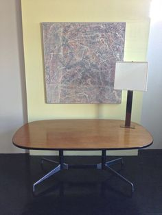 1973 Charles and Ray Eames Segmented Base Table, Herman Miller !! CHRISTMAS SALE !! on Etsy, $1,200.00