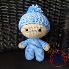Big Head Baby Doll by Zwooczki on Etsy