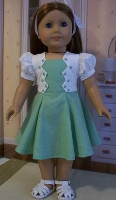 Zig-zag bodice frock for Emily | Flickr - Photo Sharing!