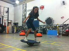 Balance Kids Workout, Exercise For Kids, Gym Equipment, Sports, Training, Hs Sports, Workout Equipment, Sport