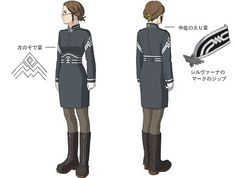 Last Exile Sophia Forrester Uniform