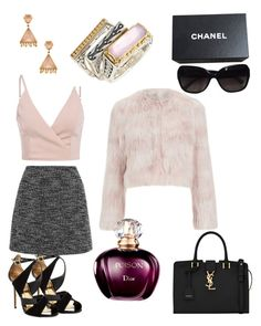 """""""Sem título #9"""" by celia-apel-oquendo on Polyvore featuring moda, Phillips House, Ted Baker, RED Valentino, Topshop, Yves Saint Laurent, Konstantino e Chanel"""