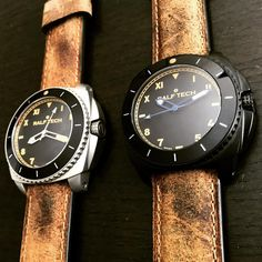The all new #ralftech #wrx #automatic #california and #california black together waiting for two elegant wrists!  #watch #watchporn #watchaddict #montres #watchnerd #limitededition #lifestyle #menstyle #specialops #wrx #wrv #academie #specialforces #sailing #frenchnavy #friends #family #diving #swissmade #luxury #swissarmy #pirates #automatic #ralftech_official #ralftech