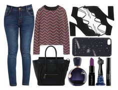 """""""street style"""" by sisaez ❤ liked on Polyvore featuring mode, Zara, Yves Saint Laurent, Marc by Marc Jacobs, Lacoste, Smashbox, Anna Sui et Laura Geller"""