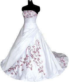 Faironly Stock Strapless Satin Wedding Dress Bridal Gwon Size 6 8 10 12 14 16
