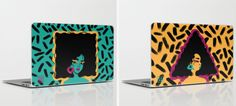 Sab Rena iPad and laptop skins, $20-30   23 Gifts Black Girls Will Appreciate Almost As Much As Coconut Oil
