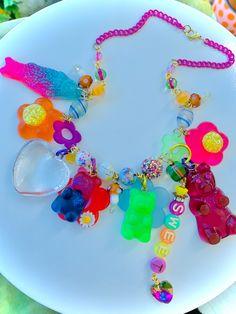 Sea Jewelry, Candy Jewelry, Mermaid Jewelry, Pink Jewelry, Summer Jewelry, Resin Jewelry, Jewelry Art, Jewlery, Jewelry Accessories