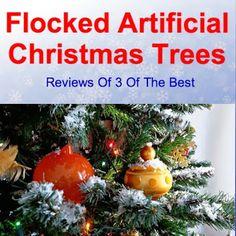 Artificial Christmas: Flocked Artificial Christmas Trees Flocked Artificial Christmas Trees, Christmas Bulbs, Fake Trees, Flocking, Decorations, Drawing, Holiday Decor, Christmas Light Bulbs, Dekoration