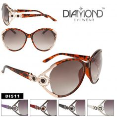 2a7a9d0968 Ladies Sunglasses DI511 Rhinestone Fashion Sunglasses (Assorted Colors) (12  pcs.)