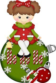 NATAL PERSONAGENS Mais Christmas ClipartCarmen
