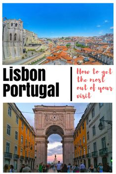Portugal Travel Guide: Visit Lisbon - Top places to see and food to eat. Great tips for budget travelers with free walking tours and other tours to see Alfama and try amazing Portuguese Tapas. Also, see some fantastic viewpoint and famous attractions by taking these great tours that make it easy to get around: Check out our tips and guide here: https://togethertowherever.com/lisbon-portugal-guide-first-timers-tours/