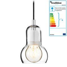 &Tradition - Bulb Pendelleuchte, SR1, klar, Stromkabel schwarz Schwarz T:11 H:16 B:11 Jetzt bestellen unter: http://www.woonio.de/produkt/tradition-bulb-pendelleuchte-sr1-klar-stromkabel-schwarz-schwarz-t11-h16-b11/