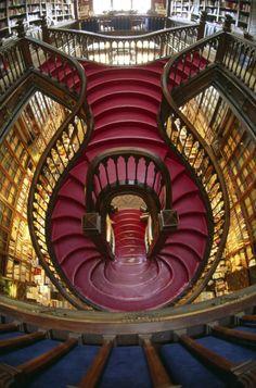 Livraria Lello book shop, Portugal