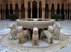 Patio de los leones.Alhambra