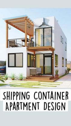 Cargo Container Homes, Shipping Container Home Designs, Building A Container Home, Container House Design, Tiny House Design, Modern House Design, Tiny Houses Plans With Loft, New House Plans, Modern House Plans