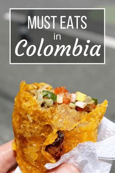 Not all Colombian food is bland and boring! Try my guide to what to eat while in Colombia for a great taste of local culture! Foodie travel Must Eats in Colombia- Colombian Street Food Tour Colombian Dishes, Colombian Cuisine, Colombian Culture, Colombian Desserts, My Colombian Recipes, Ecuador, Columbian Recipes, Tandoori Masala, Latin Food