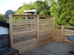 Privacy Wall Finished By Fowlski, Via Flickr