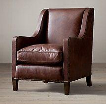 Blake Leather Club Chair