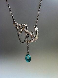 #nautical #anchor #necklace