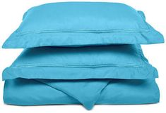 Superior Light Weight and Super Soft Brushed Microfiber, Wrinkle Resistant Duvet Cover with Embroidered Pillow Shams Duvet Sets, Duvet Cover Sets, Luxury Duvet Covers, Single Duvet Cover, Cotton Duvet, Pillow Shams, Alex Toys, Type, Pillowcases